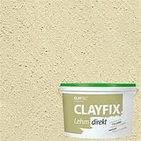 Декоративная глинянная краска мелкозернстая CLAYFIX 2.2 нефритовый, 10 кг