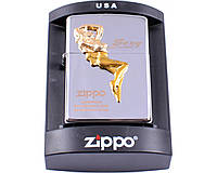 Зажигалка фирменная бензиновая Zippo Sexy №4234-1  Запальничка. Зажигалка очень качественная.