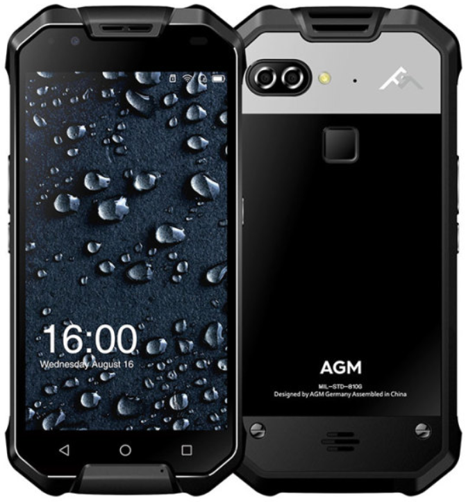 AGM X2 6/128 Gb Black