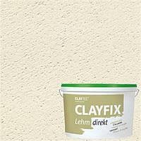 Декоративная глинянная краска мелкозернистая CLAYFIX  состаренно белый, 10 кг
