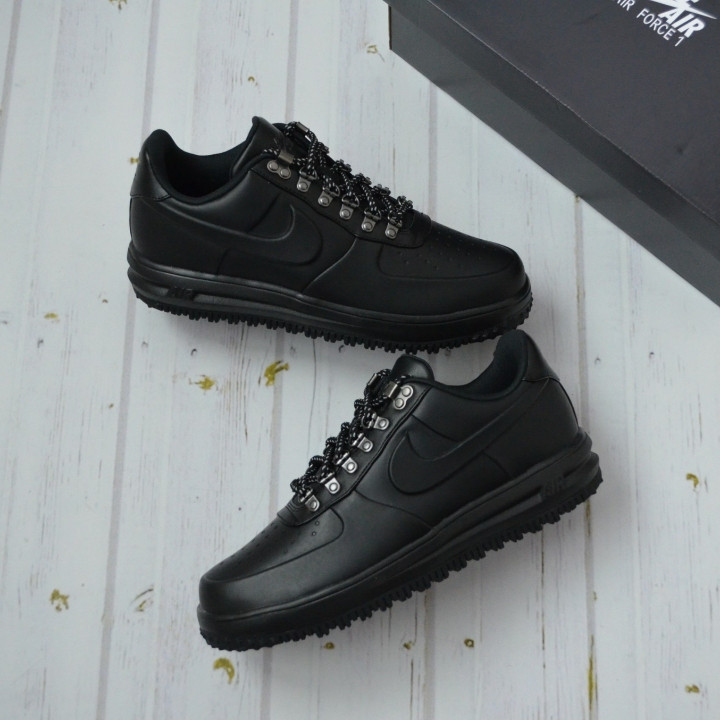 Footlocker Pictures For Sale Lunar Force 1 Duckboot Low In Black AA1125-001 - Black Nike Discount Extremely Free Shipping Websites Reliable XotwzfOdja