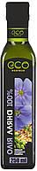 Масло льняное Eco-Olio 250 мл
