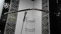 Карниз из нержавейки для шторки в ванную комнату