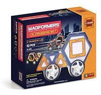 Магнитный конструктор Магформерс Крейсер XL(32 элемента) Magformers XL Cruisers Set (32-pieces)