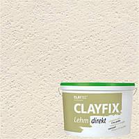 Декоративная глиняная краска мелкозернистая CLAYFIX 3.1  серый, 10 кг