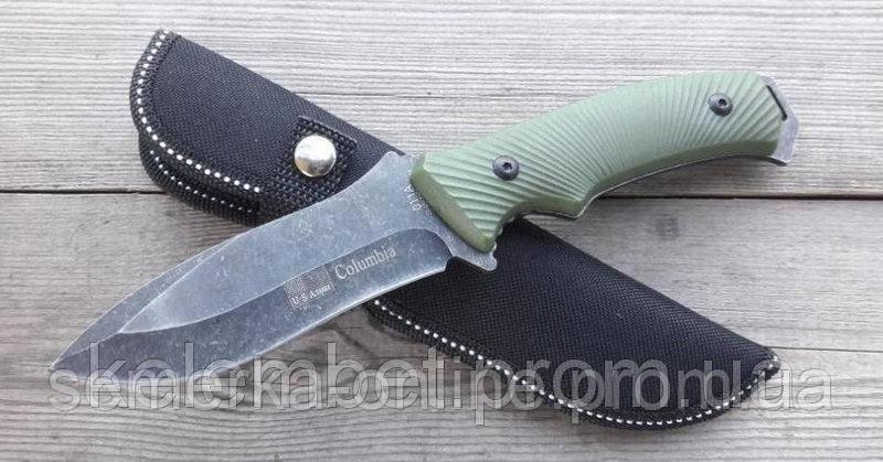 Нож охотничий Соlumbia. Полевой армейский ножик для