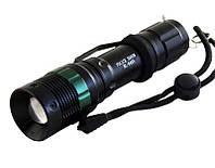 Тактический карманный фонарь. Фонарик ручной Police BL-8455 + функция зум. Аккумуляторный фонарь