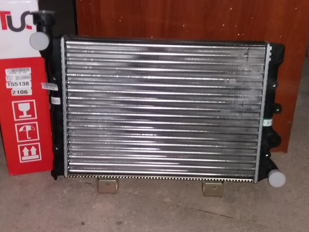 Радиатор ВАЗ 2106 2 рядный алюминиевый пр-во Иран Радиатор