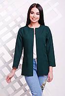Пиджак 1721 темно-зеленый