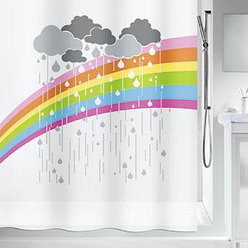 Шторка д/ванної peva ARC EN CIEL разноцветная, 180 x 200 см