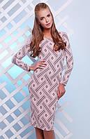 Платье 1627 розовый