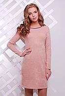 Платье 1629 персик