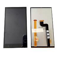 Дисплей (LCD) HTC Desire 601 / 601 Dual Sim с сенсором черный