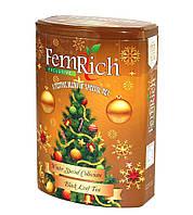 "Чай FemRich ""Новогодняя сказка"" 150гр,ж/б"