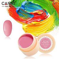 Гель-краска CANNI 525 пастельная светло-малиновая