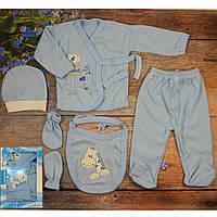 Набор для малышей из 5 предметов Размер:0- 3 месяца Рост: 56 см (5855-2)