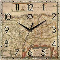 Часы настенные от Украинской часовой мастерской.