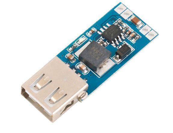 Понижуючий перетворювач USB DC-DC 7.5-28В на 5В 3А