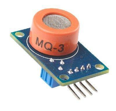 Датчик газа MQ3 MQ-3 (алкоголь)