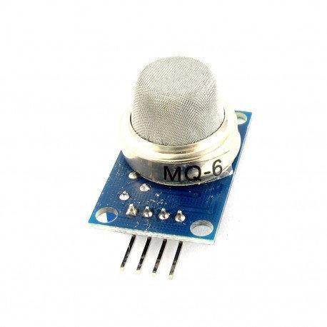 Датчик газа MQ6 MQ-6 (сжиженный углеводородный газ)