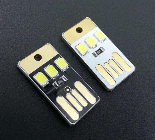 USB LED світильник 3 світлодіода