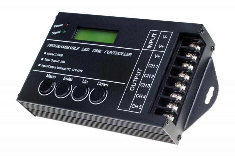 TC420 5 канальный LED контроллер