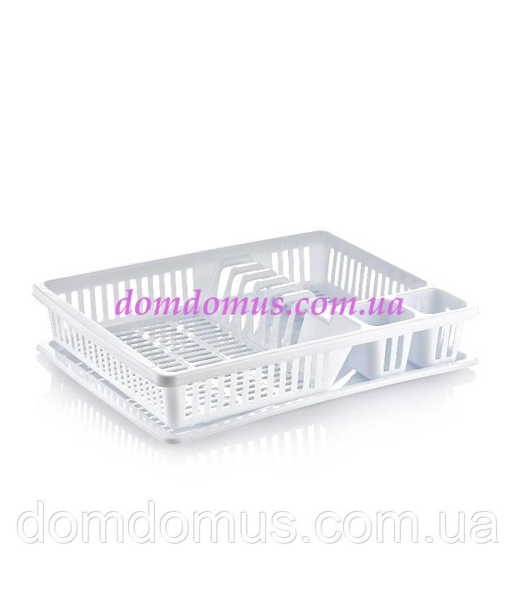 Сушка пластиковая для посуды Dunya Plastik 07107