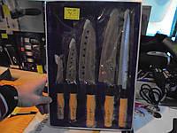 Набор ножей 105А , набор ножей, 5 предметов, , кухонные ножи. столовые ножи. подставки