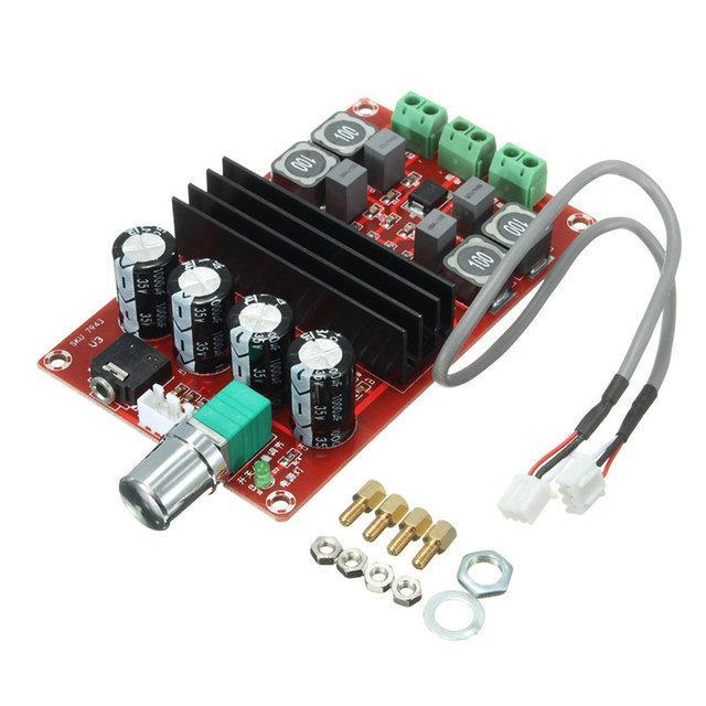 Аудио усилитель TPA3116 D2, 2х100 Вт