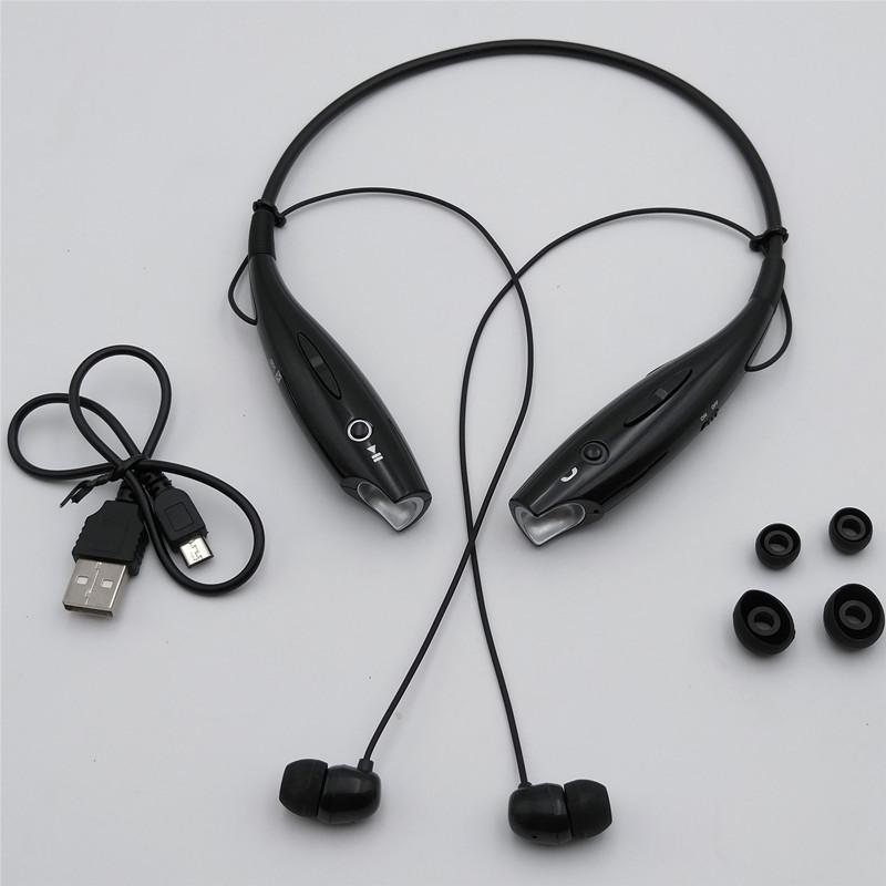 Бездротові Bluetooth-навушники HBS-730 для спорту, бігу.