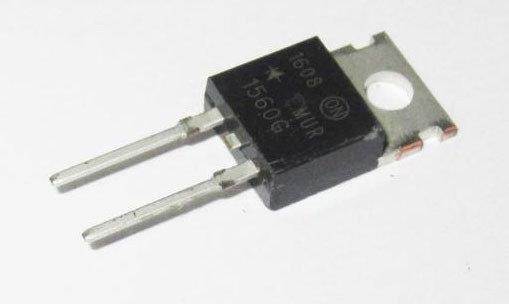 Ультрабыстрый диод MUR1560G 15А 600В