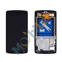 Дисплей (LCD) LG D820 Nexus 5 Google / D821 с сенсором черный + рамка