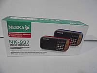 Мини-колонка Neeka NK-937, Плеер, радио колонки,радиоприемники, аудиотехника, радио колонки,оригинальные