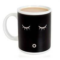 Кружка чашка Доброе утро. Кофе в чашку наливается - глазки открываются!