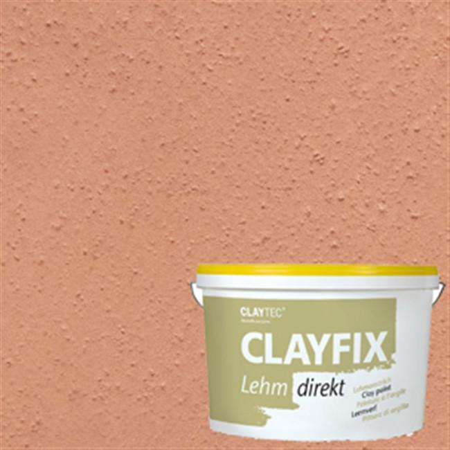 Декоративная глиняная краска мелкозернистая CLAYFIX 1.1 ндийско-красная , 10 кг