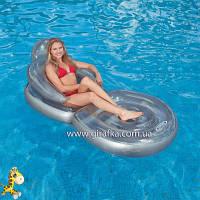 Раскладное надувное кресло-матрас Intex 58867