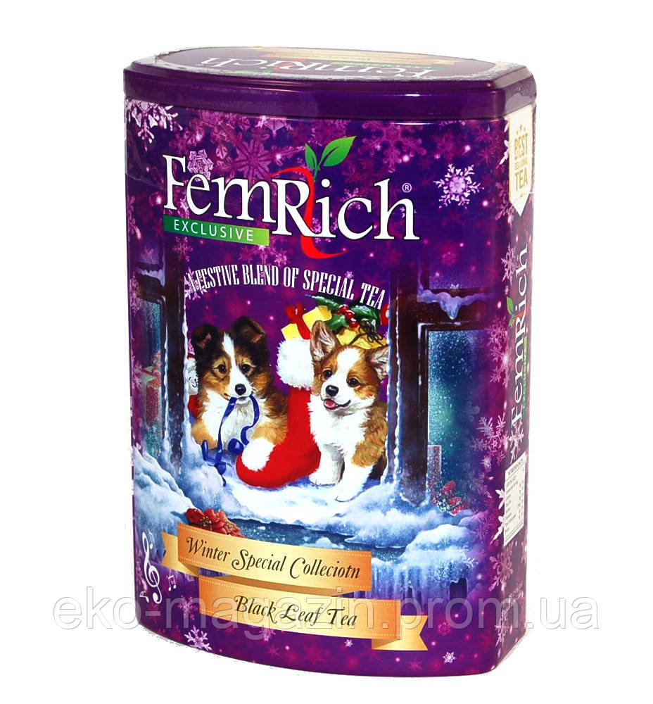 "Чай FemRich ""Вірний друг"" 150гр ж/б"