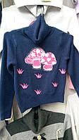 Теплая кофточка свитер для девочки фирмы Many&Many