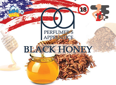Black Honey ароматизатор TPA (Черный мёд и табак)