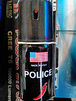 Газовый баллончик для самообороны. Производство USA. Очень мощное средство самообороны