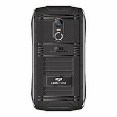 HOMTOM ZOJI Z6 Black стильний захищений смартфон IP68, фото 2