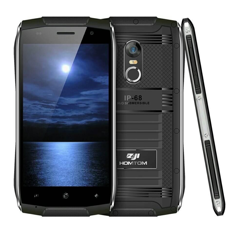 HOMTOM ZOJI Z6 Black стильний захищений смартфон IP68