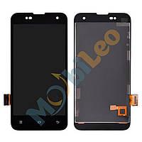 Дисплей (LCD) Xiaomi Mi2 / Mi2s с сенсором черный