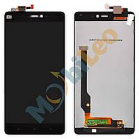 Дисплей (LCD) Xiaomi Mi4c с сенсором черный