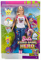 Кукла Барби Barbie Реальный мир серии Героиня видеоигр Оригинал!!! Mattel - США. DTV96