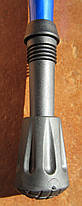 Туристическая складывающаяся палка-трость с изогнутой ручкой, фото 3