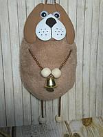 Собачка с колокольчиком Оригинальный подарок, фото 1