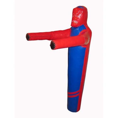 Манекен для боротьби з тканини ПВХ зріст 160, 28-35 кг (ПВХ) 950 гр / м2