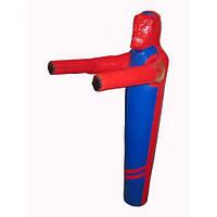 Манекен для боротьби з тканини ПВХ зріст 180, 40-45 кг (ПВХ) 950 гр / м2