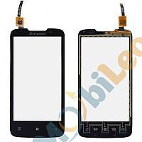 Тачскрин (сенсор, экран) Lenovo A820 черный